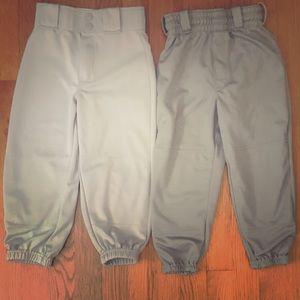 2 Rawlings baseball pants